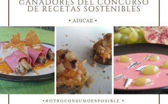 Ya están disponibles los ganadores de nuestro concurso de recetas sostenibles